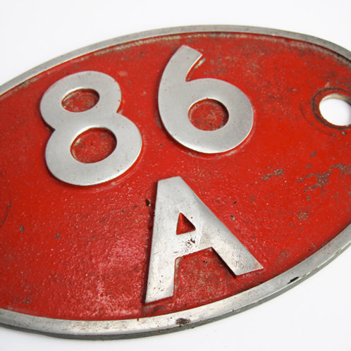Shed Plate 86A
