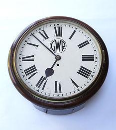 GWR 14inch fusee Roundhead clock