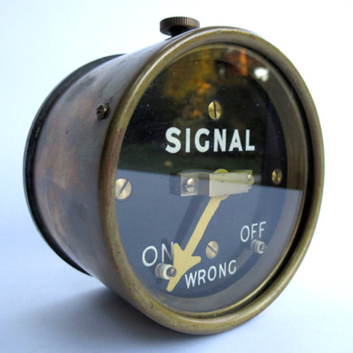 SR Brass Cased Signal Repeater
