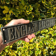 English Electric plate Ex.37083