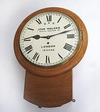 S.E&C.R drop dial wall clock 1634