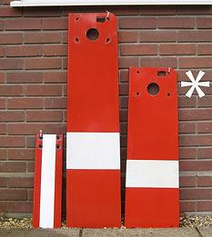 GWR enamel home signal arm
