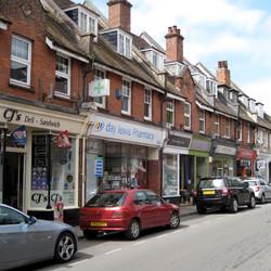 Brockenhurst village centre