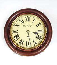 GWR 8 inch dial wall clock