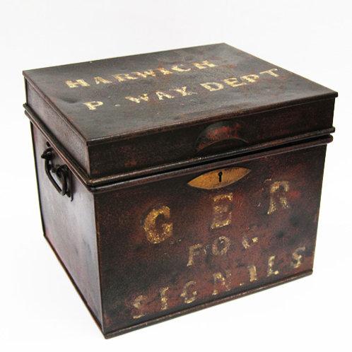 GER steel detonator box
