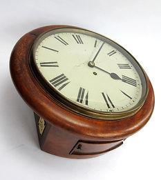 GWR 12inch fusee wall clock