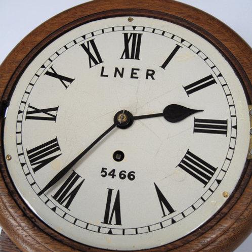 LNER drop dial 8inch wall clock