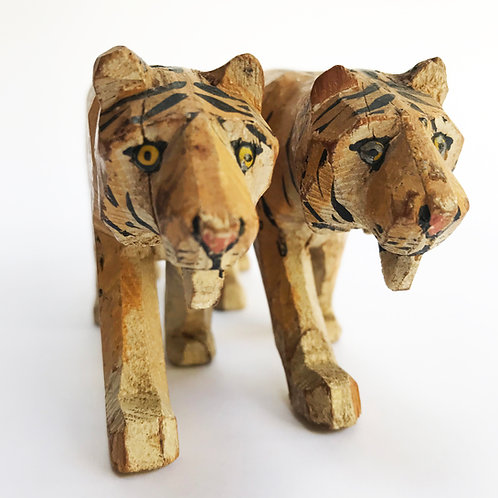 The Forest Toys pair of Tigers