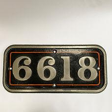 GWR CI Cab Side No.6618