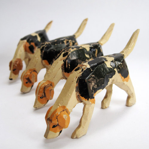 The Forest Toys Fox Hounds