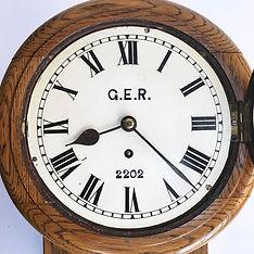 GER 8inch Railway Clock