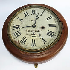 GER 8inch clock Ex-Yarmouth Station