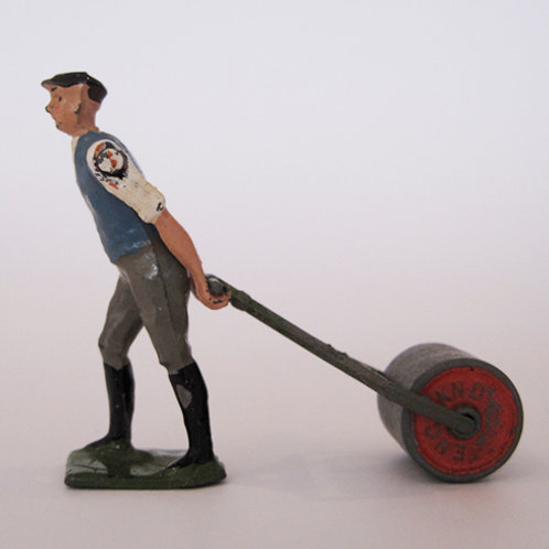 Britains Farmer with Roller