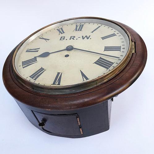 L&NWR 12inch Railway Clock