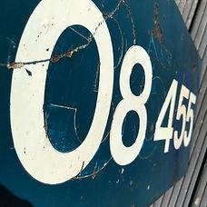 Loco Cab Side No.08455