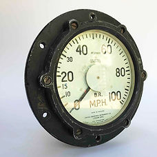 Bulleid Loco speedometer