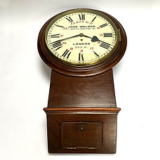 LB&SCR 14inch clock Ex-Northfleet Station