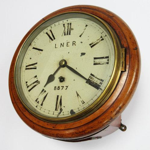 LNER 8inch Railway Clock
