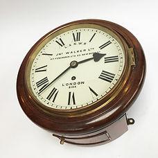 L&SWR 8inch Fusee Railway Clock