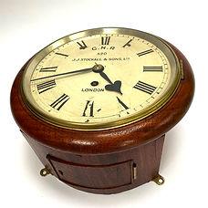 GNR 8inch clock Ex-Sandy Goods
