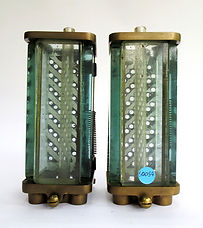 Pair LNER Loco Water Gauge Glasses