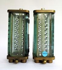 Pair LNER Loco Water Gauge Glasses