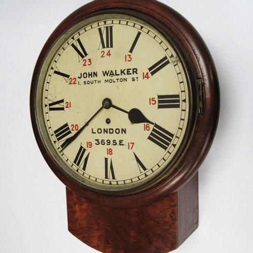 SER drop dial wall clock