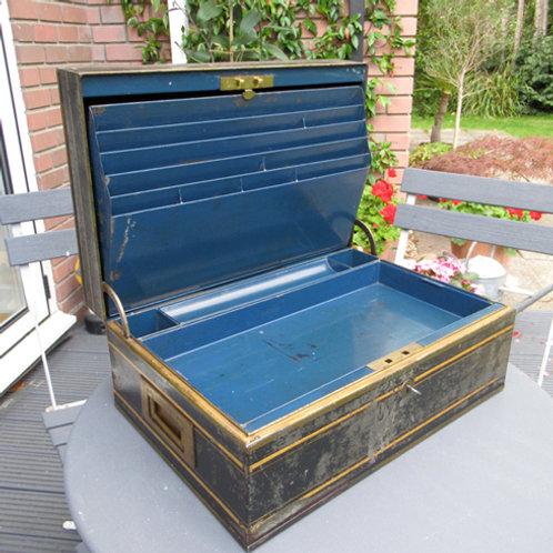 Large Gilt Stationary Box