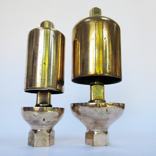 GWR pair of locomotive whistles