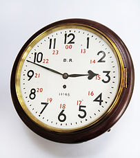 GNR 12inch roundhead wall clock_SOLD