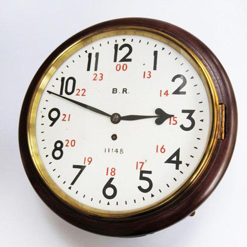 GNR 12inch roundhead wall clock