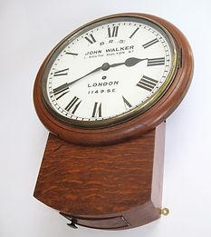 S.E&C.R drop dial wall clock 1149