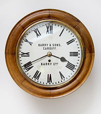 Barry Railway Wall Clock