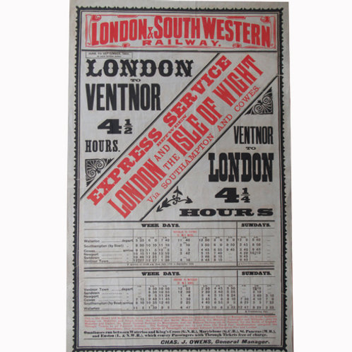 London to Ventnor