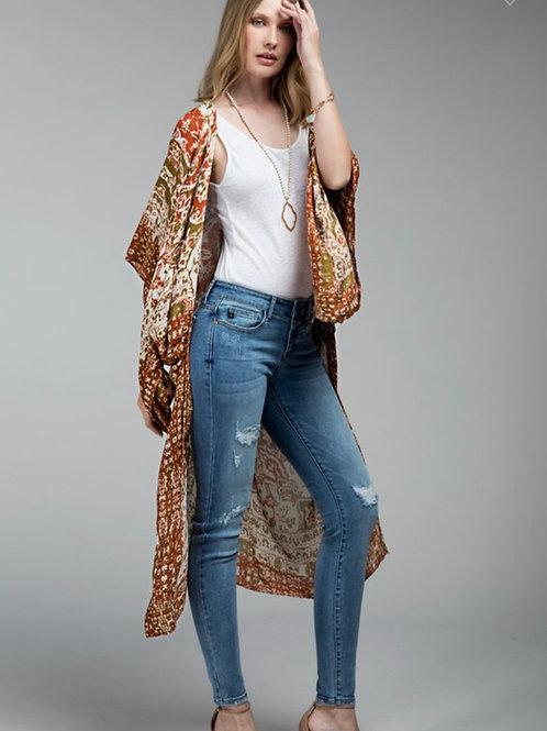 Rust Kimono