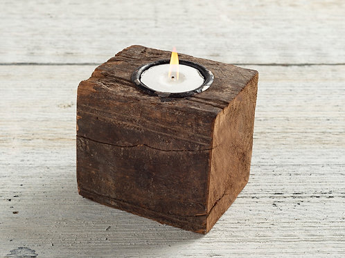 Wood Tealight Holder