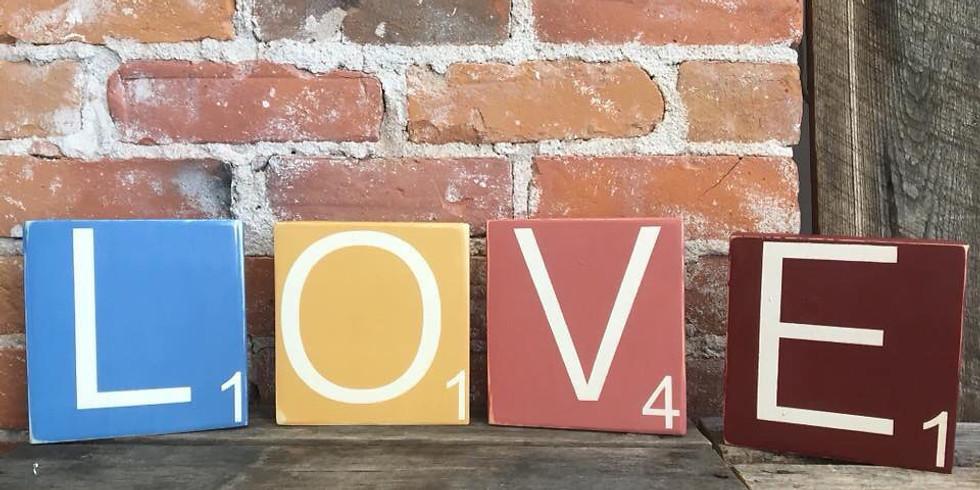 Scrabble LOVE workshop
