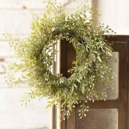 Mixed Sage Wreath