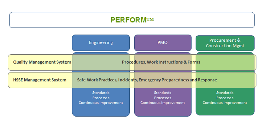 TWD PERFORM™ Project Execution Process
