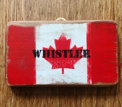 Canada flag - Whistler