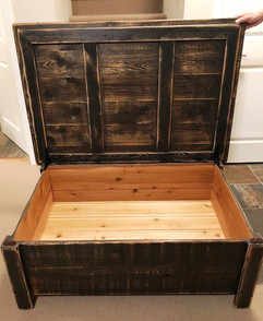 Rustic Storage Table