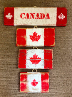 Rustic Canada Signs