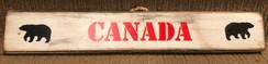 Rustic Canada Bear Sign