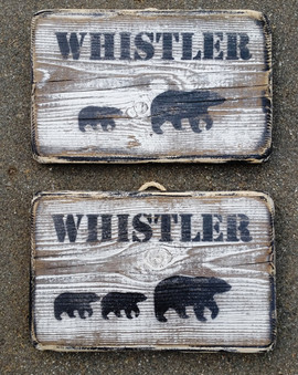 Rustic Whistler Bears