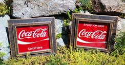 Rustic Coca-Cola sign