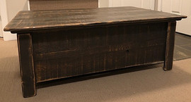 Rustic Storage Table