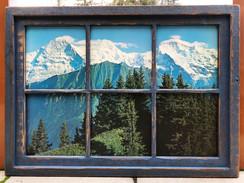Rustic Window Print