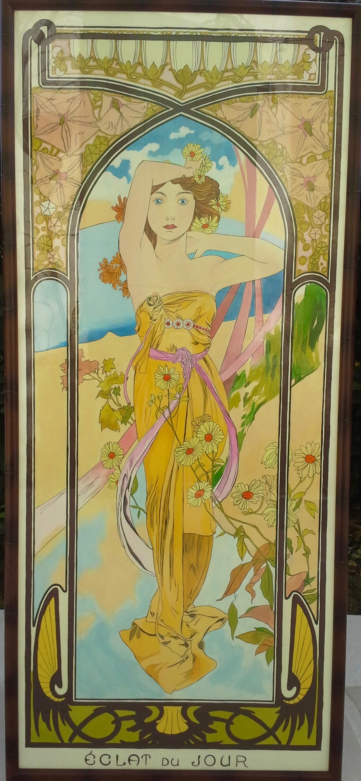 "Copy of ""The Times of Day"" by Alfons Mucha"
