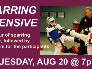 Sparring Intensive - TONIGHT!