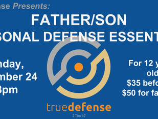 trueDefense Father/Son Seminar